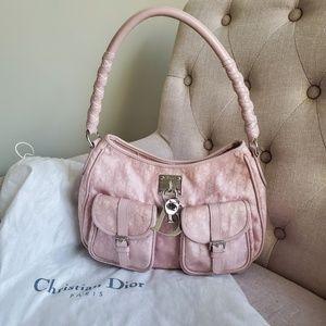 Christian Dior Pink Trotter Shoulder Bag
